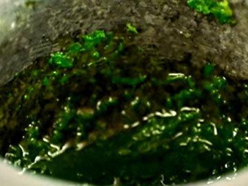 Омлет с салатом 2