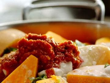 Тайский красный куриный суп 2