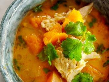 Тайский красный куриный суп 6