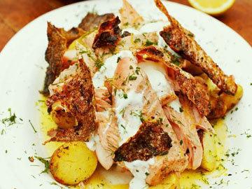 блюдо из лосося от Джейми Оливера