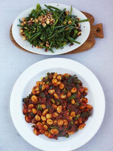 Ньокки рецепт с колбасками