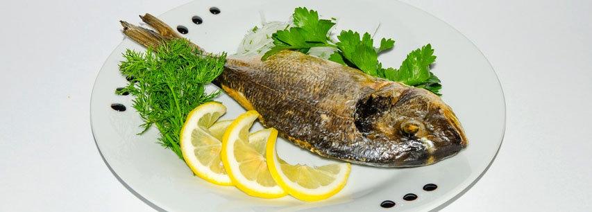 Slider Маринованная рыба, запеченная в духовке