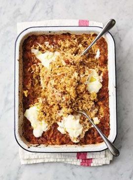 Запеченный шафрановый рис