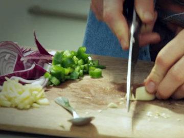 Как приготовить Легкий овощной карри 4
