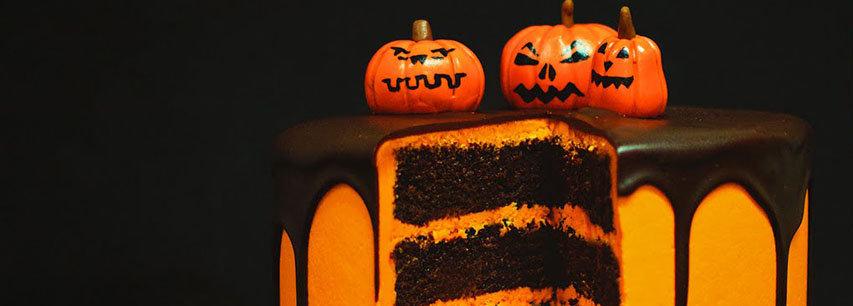 Slider Торт на Хэллоуин