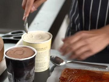 9. Начинка из мороженого
