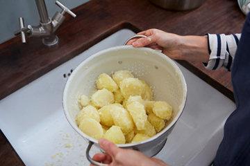 Жареный картофель с шалфеем и апельсином 2
