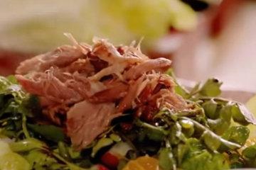 подать с салатом
