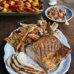 Запечь свинину в духовке куском