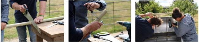 VII. Сделать и прикрепить деревянную ручку