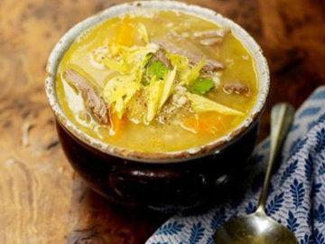 Шотландский суп с кореньями