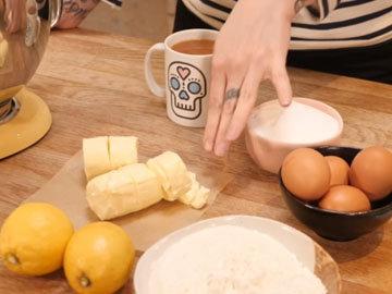 Ингредиенты 1 кекс