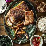 Свиная корейка в духовке - со специями