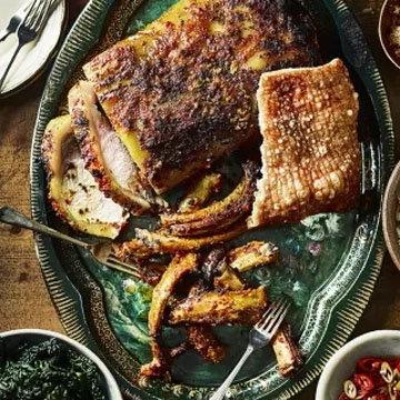 Свиная корейка в духовке
