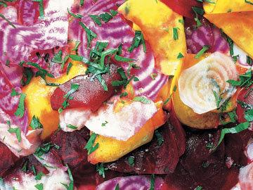 Сырой свекольный салат