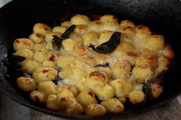 Картофельные ньокки - простое, бюджетное блюдо