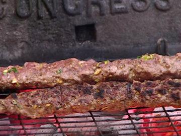 кебабы из рубленной баранины 1