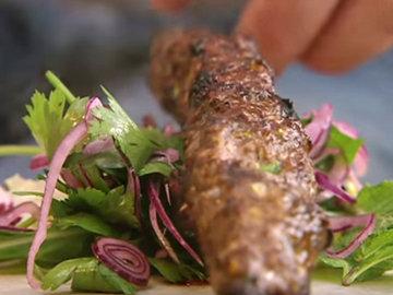 кебабы из рубленной баранины 2