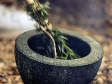 4. Приготовить веничек из трав
