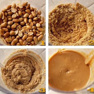 Масло образуется из ореховых комков и станет очень кремовым
