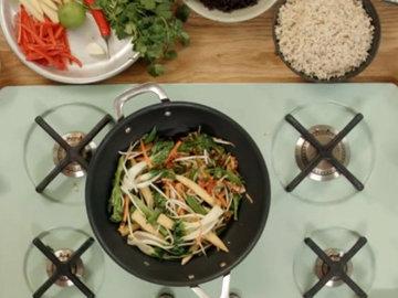 Рецепт жареного риса 5
