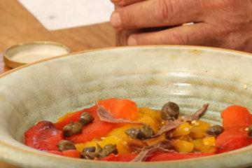 Салат из перцев 3