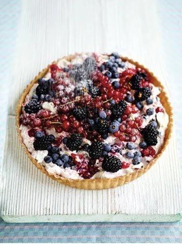 Тарт с ягодами - быстро и просто