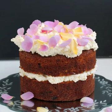 Фисташковый морковный пирог рецепт из Ирана - с медом и розовой водой
