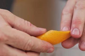 Цедру апельсина и лимона добавить в напиток