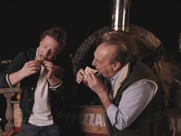 Джейми любит пиццу. Женнаро любит пиццу