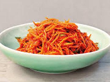 Закуска. Кимчи из моркови