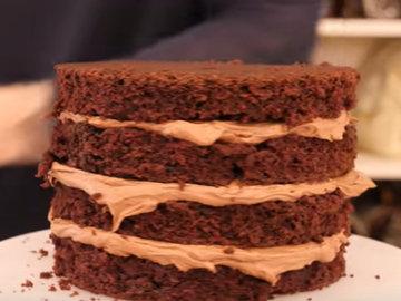 Мастер класс Рецепт веганского шоколадного торта 11