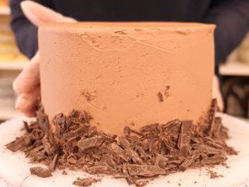 Мастер класс Рецепт веганского шоколадного торта 13