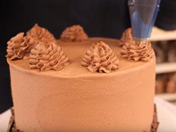 Мастер класс Рецепт веганского шоколадного торта 14