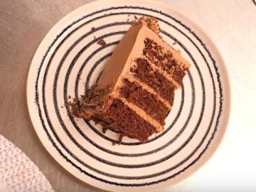 Мастер класс Рецепт веганского шоколадного торта 15