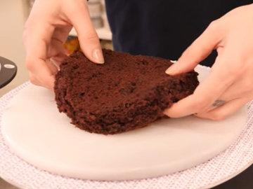 Мастер класс Рецепт веганского шоколадного торта 9