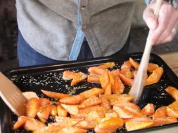 Морковь с медом 2