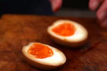Яйца замариновать