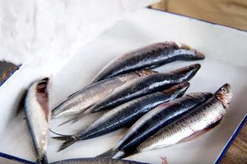 Мастер класс Джейми Оливера Рыба сардина 1