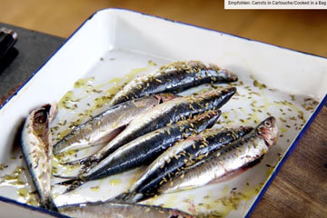 Мастер класс Джейми Оливера Рыба сардина 2