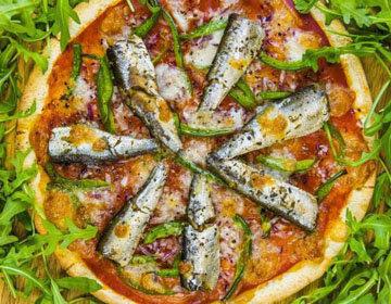Пильчард пицца