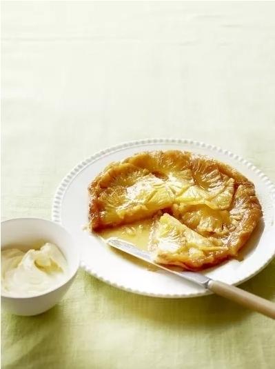 Пирог татин с ананасом