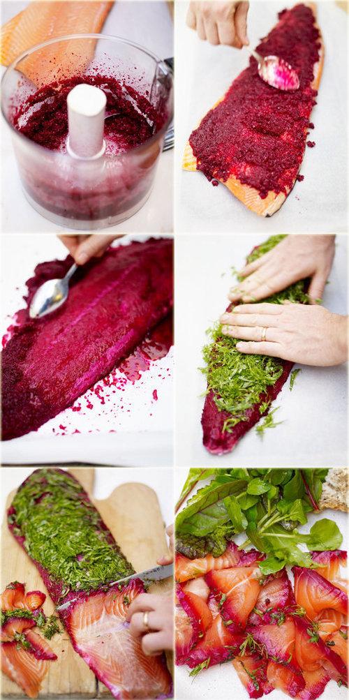 Рецепт засолки семги