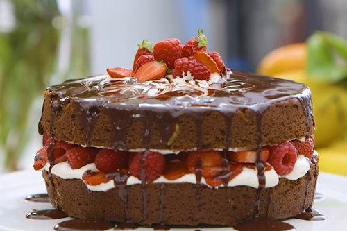 Выпечка с шоколадом шоколадный пирог и шоколадный торт