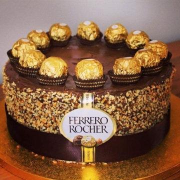 шоколадный торт Ferrero Rocher