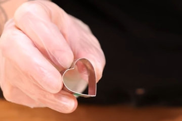 OMBRÉ торт с сердцем 6