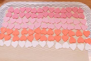 OMBRÉ торт с сердцем 7