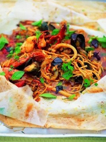 Любимое блюдо Джулс спагетти на медовый месяц