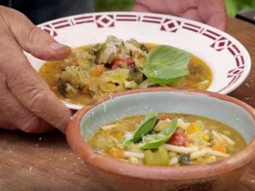 Итальянский суп минестроне от Женнаро Контальдо