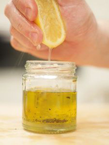 Лимонная заправка